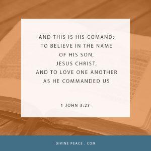 1 John 3 23
