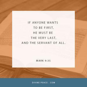 Mark 9 35
