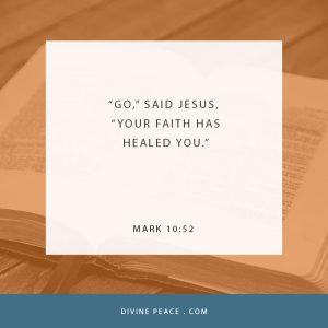 Mark 10:52