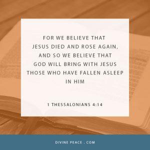 1 Thessalonians 4 14