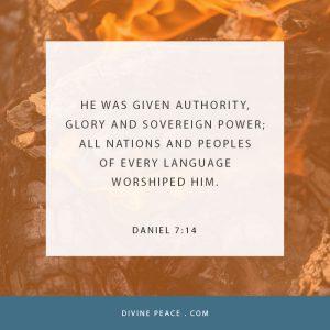 Daniel 7 14