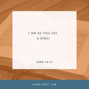 John 18 37