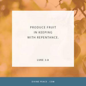 Luke 3 8