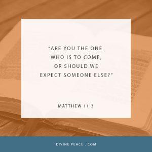 Matthew 11:3