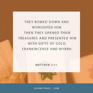 Matthew 2 11