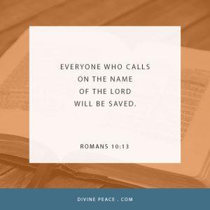 Romans 10 13
