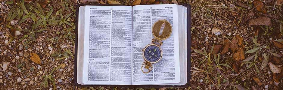 Bible and Compass