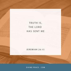 Jeremiah 26 15