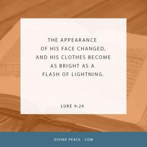 Luke 9 29