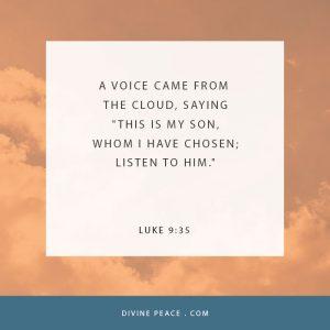 Luke 9 35