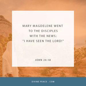 John 20:18