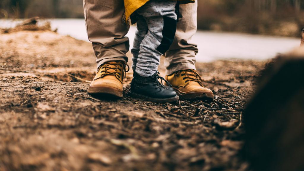 Dad-Son-Feet
